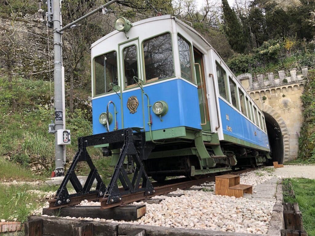 Sentiero della vecchia ferrovia a San Marino