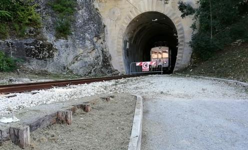 vecchia ferrovia a San Marino